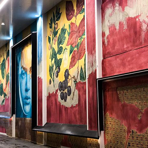 """Laneway Mural"" by Tyrone Write (Rone)"