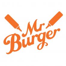 The Mr Burger logo
