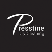 The Presstine Dry Cleaning logo