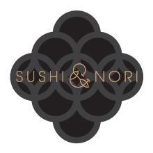 The Sushi & Nori logo
