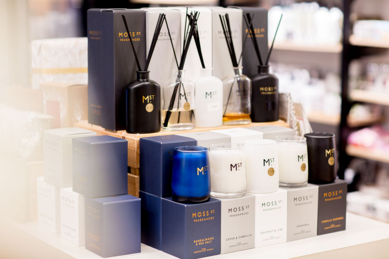 Moss St Candles at Capsule Pharmacy