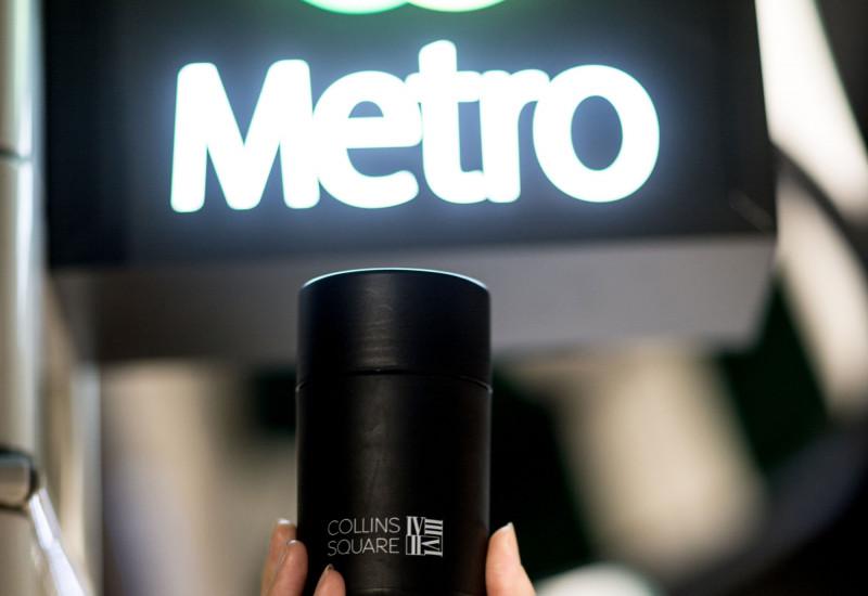 Free Coffee at Metro