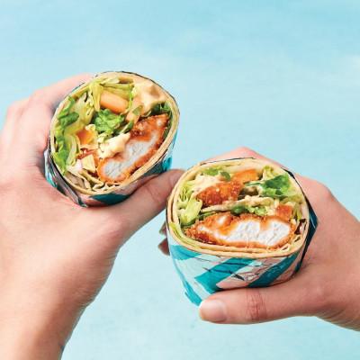 Salsas NEW Crispy Chicken Jalapeno Mayo Burrito